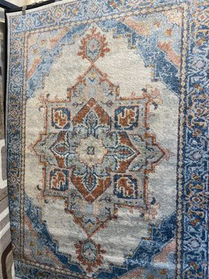 5x8 multi color classic floral design carpet brand new medallion carpet for Sale in Los Angeles, CA