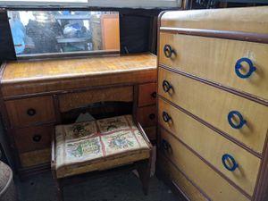 Retro 40s or 50s bedroom set for Sale in Sultan, WA