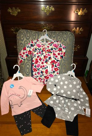 All Brand New!!! Carter outfits for girl 🌺 Size 24 months for Sale in Chesapeake, VA