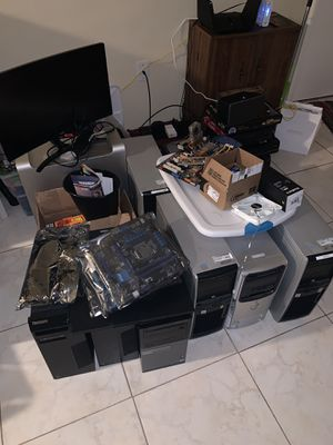 Random lot of computer parts. for Sale in PT CHARLOTTE, FL