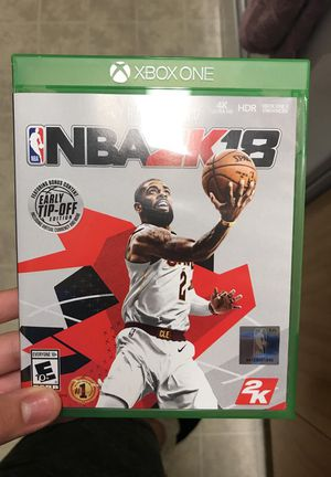 NBA 2k18 Xbox one for Sale in San Francisco, CA