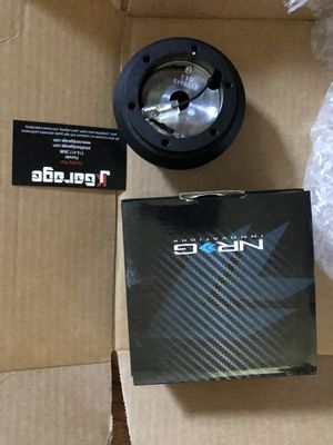 NRG SHORT HUB ADAPTER HONDA & ACURA 92-95 CIVIC / DEL SOL / 94-01 INTEGRA / 92-96 PRELUDE / 90-93 ACCORD for Sale in Westminster, CA