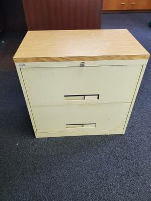 2-DRAWER LATERAL METAL FILE CABINET for Sale in Bel Air, MD