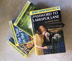 Four Nancy Drew Hardcovers #6, #7, #9, #10 for Sale in Greer, SC