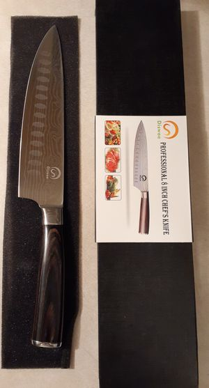 8 Inch High Carbon Steel Chef's Knife New With FREE Gift Box for Sale in Las Vegas, NV