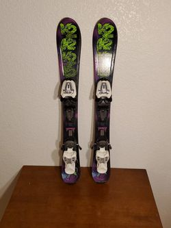 KIDS K2 SKIS - 76cm for Sale in Tacoma,  WA