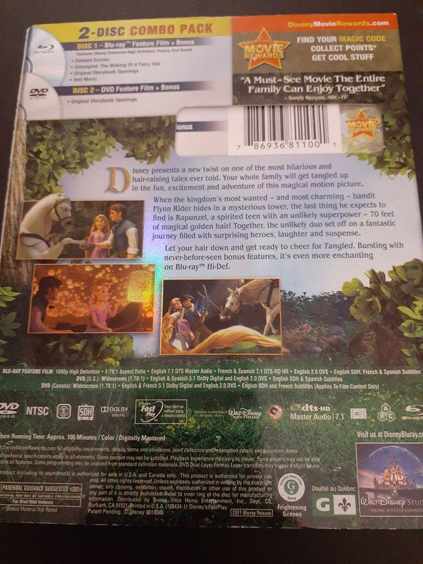 Disney's TANGLED (Blu-Ray + DVD)