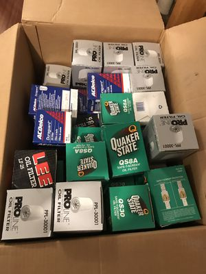 Oil filters for trucks for Sale in Fairfax Station, VA