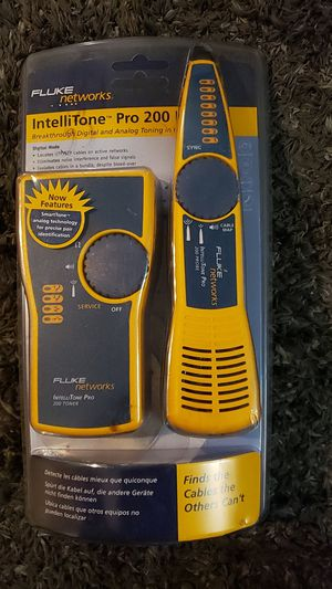 Fluke networks IntelliTone Pro 200 tone and probe kit. for Sale in Seattle, WA