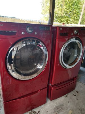 Lg gas ⛽ dryer and washer set for Sale in Houston, TX