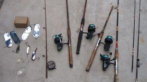 60s fishing equipment all $145 for Sale in Fair Oaks, CA