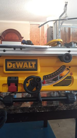 Dewalt compact jobsite table saw for Sale in Charlotte, NC