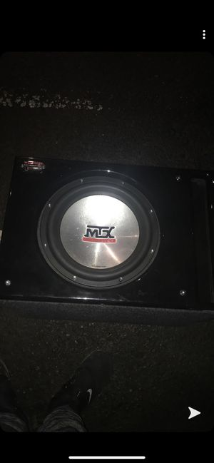 Mtx thunder 7,500 10 inch for Sale in Portland, OR