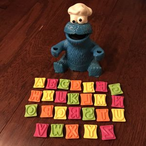 Cookie Monster alphabet play doh toy for Sale in Chula Vista, CA