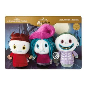 Nightmare before Christmas lock shock & barrel itty bitty plush for Sale in Bellflower, CA