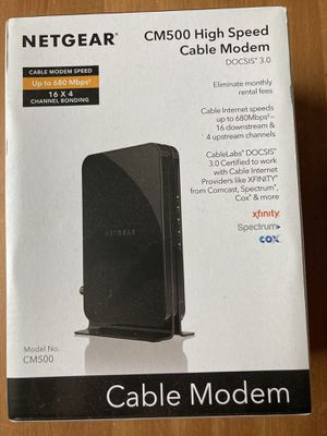 Netgear Cable Modem for Sale in Portland, OR