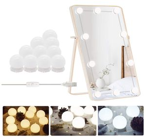 Vanity Lights for Mirror with 10 Dimmable Bulbs, Hollywood Style LED Vanity Light Kit for Makeup, Adjustable Colors and Brightness with Dimmer Switch for Sale in Orlando, FL