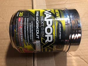 Muscle tech vapor x5 next gen pre workout power for Sale in Corning, OH