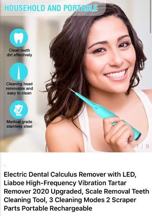 Electric tooth cleaning calculus remover with LED for Sale in Industry, CA