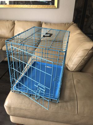 Brand New Small Dog or Cat house crate. With tray for Sale in Denver, CO