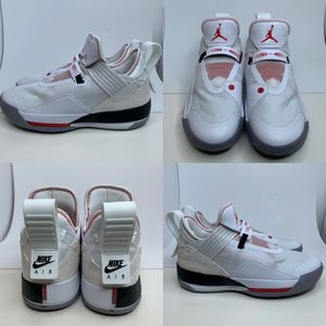 Nike Air Jordan XXXIII Low SE 33 Men's Size 10.5 White Gym Red Gold CD9560-106 for Sale in Euless, TX