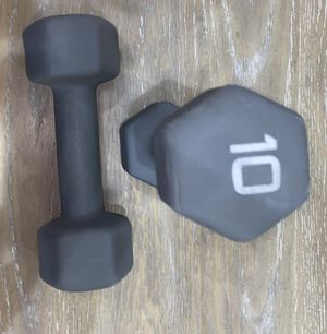 Dumbbell 10 lbs set for Sale in Lutz, FL