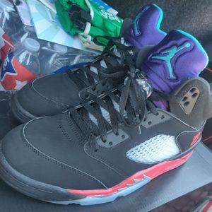 Men Jordan 5 retro top 3 size 10.5 for Sale in Hawthorne, CA
