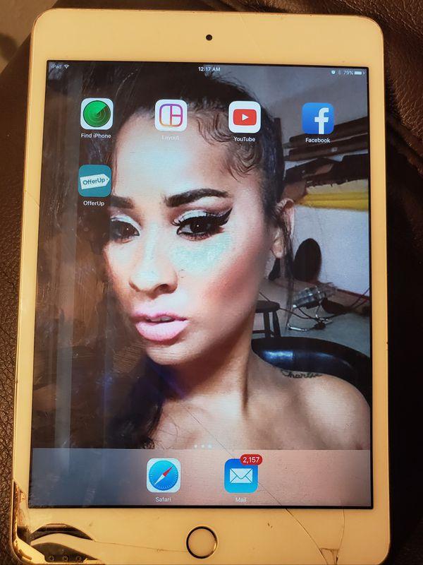 Used iPad Mini 4 Gold