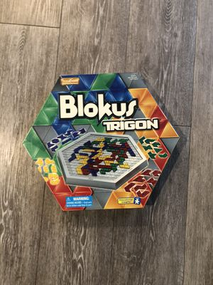 Blokus Trigon board game for Sale in Rancho Cordova, CA
