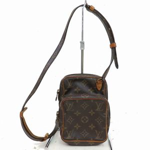 Authentic Louis Vuitton Mini Amazon M45238 Brown Monogram Shoulder Bag 11308 for Sale in Plano, TX