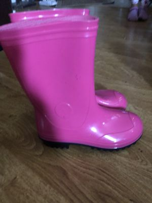 Rain boots Size 2 for Sale in Bakersfield, CA