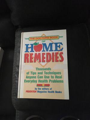 Home Remedies Health Book - hardback for Sale in Norwalk, CA