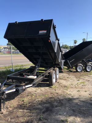 Dump trailer 6x12TA @ Brothers Trailers for Sale in Tampa, FL