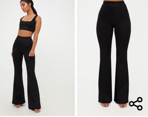 Black high waisted flare pants for Sale in Tustin, CA