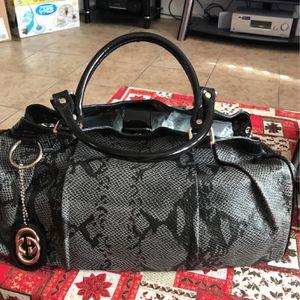 Preloved Hobo Bag Snake Leather for Sale in Las Vegas, NV