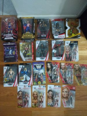 Wwe 20 figures for Sale in Saint James, NY