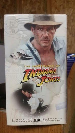 Indiana jones collectors 3 pack vhs for Sale in Harper Woods, MI