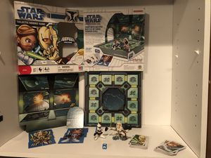 star wars galactic heroes game board with action figures, puzzles for Sale in Phoenix, AZ