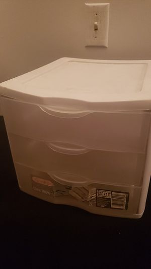 Sterilite Plastic Drawer for Sale in Moreno Valley, CA