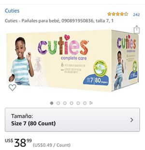 Cuties complete care diapers for Sale in Aspen Hill, MD