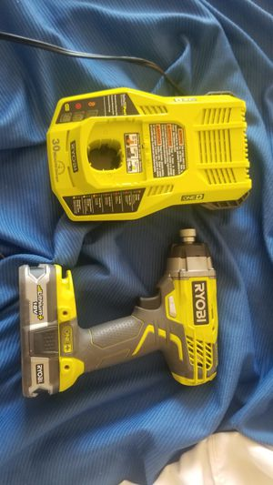 Ryobi p237 drill with battery and charger for Sale in Daly City, CA