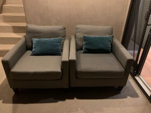 Two cloth chairs for Sale in Newport Beach, CA