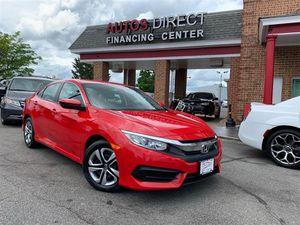2016 Honda Civic Sedan for Sale in Fredericksburg, VA