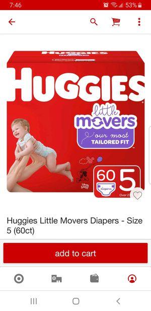 Huggies Diapers for Sale in Pomona, CA