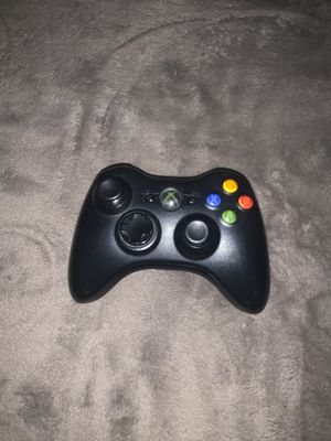 Black xbox 360 controller for Sale in Sanger, CA