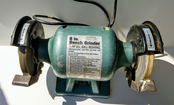 Collins Quality Tools 6 Inch Bench Grinder For Sale In