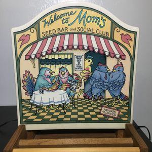 Rare Vintage Santa Barbara Ceramic Design Wall Art Bird Feeder. Collectors Item for Sale in Lehigh Acres, FL