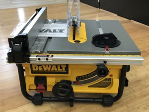 "Dewalt DW745 10"" Compact Jobsite Table Saw for Sale in Ashland, MA"