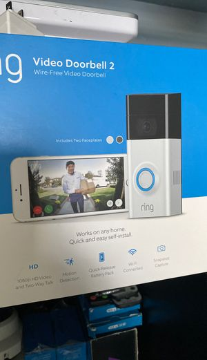 Ring Video Doorbell - New Professional Install for Sale in Pleasant Hill, CA