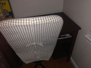 Ikea desk and chair (like new) for Sale in Fairfax, VA